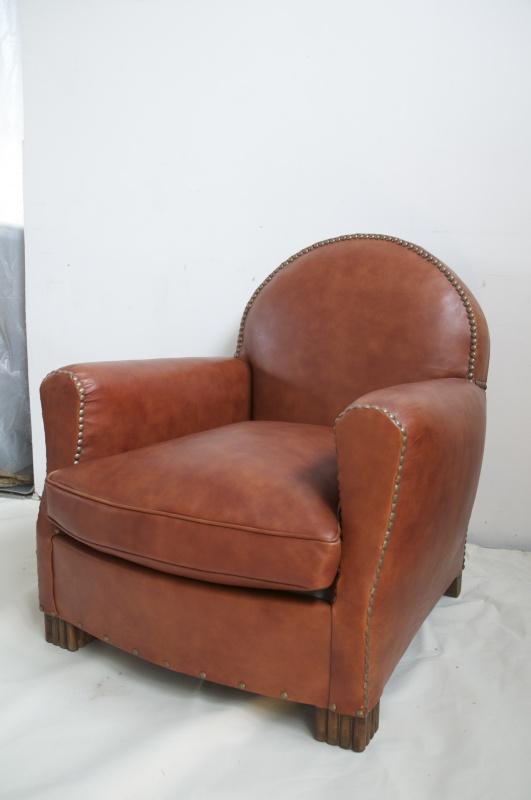 fauteuil club cuir